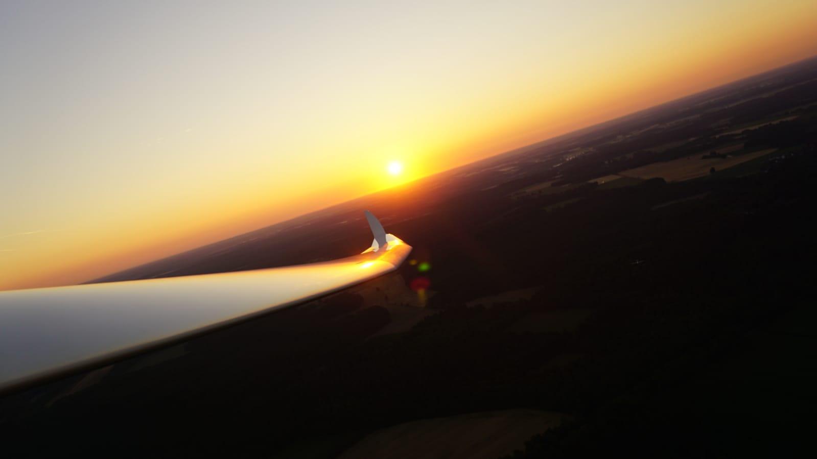 Sonnenaufgang in Scheuen