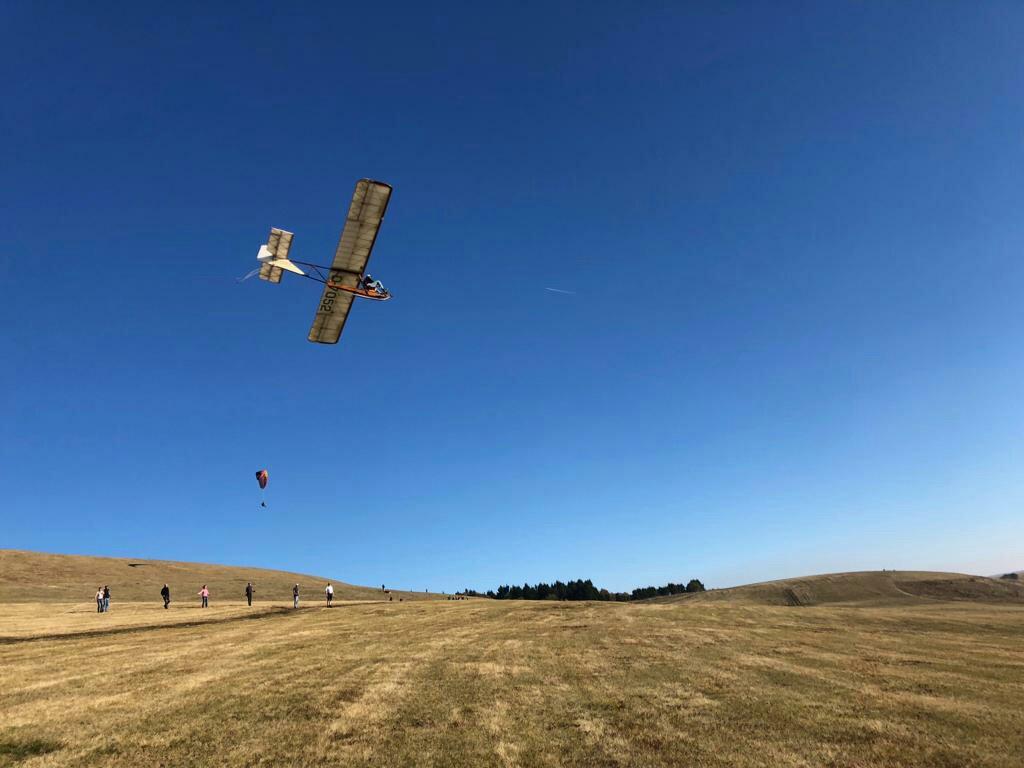 Ausflug auf die Wasserkuppe -SG 38 Fliegen-
