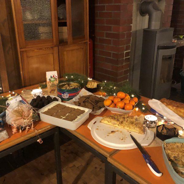 Siebtes Meet and Eat - Weihnachtsfeier